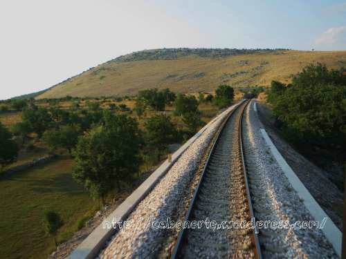 En tren por Croacia