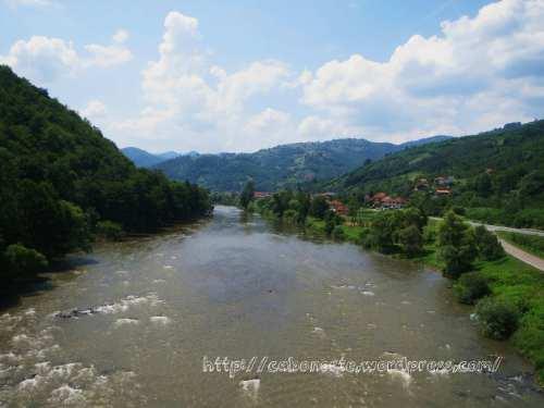 Paisaje del interior de Bosnia