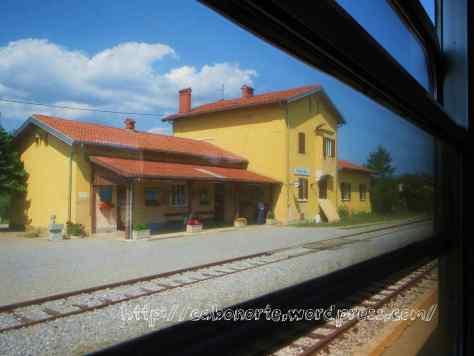 Estación de Prvacina, Eslovenia