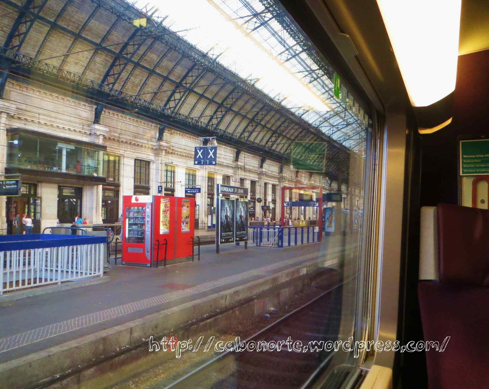 Estación de Saint Jean en Burdeos