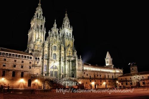 Praza do Obradoiro, Compostela