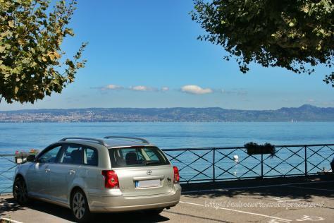 Lago Leman, Francia y Suiza, agosto de 2011