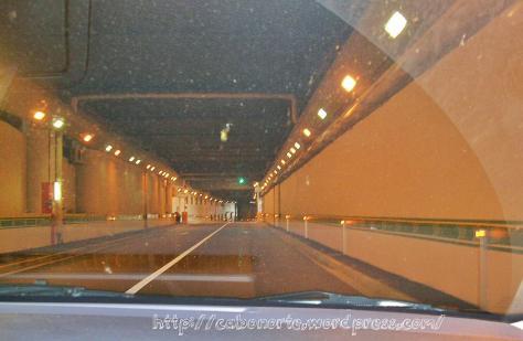 Tunel en Mónaco, abril 2009