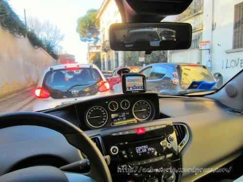 Atasco en Florencia