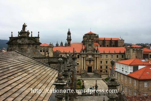 Seminario Mayor desde los tejados de la Catedral