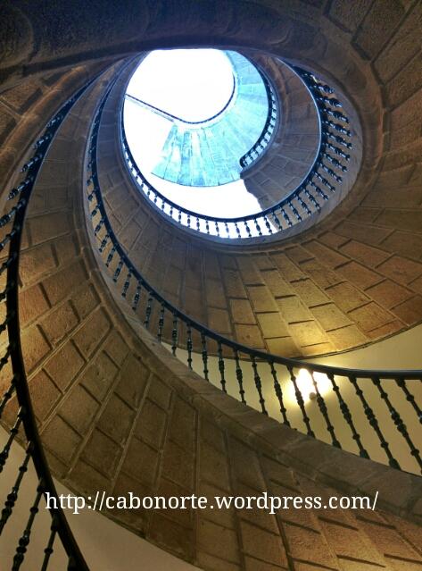 Escaleras en el Museo do Pobo Galego