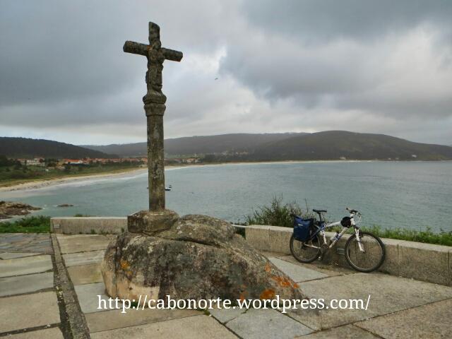 Praia da Langosteira desde Fisterra