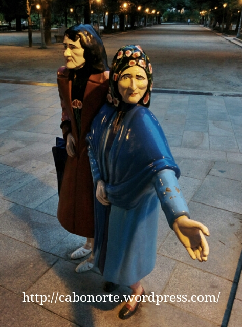 As Marías, en el Parque da Alameda