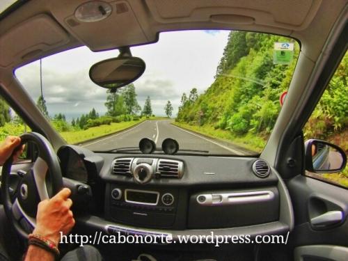 A Illa de San Miguel en coche
