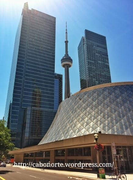 Rañaceos e a CN Tower