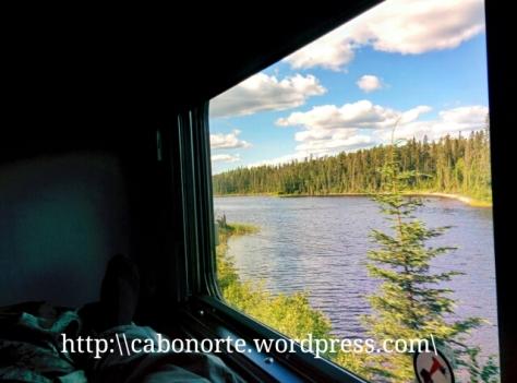 As vistas dende a cabina