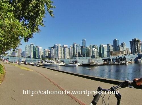 Vancouver dende o Stanley Park