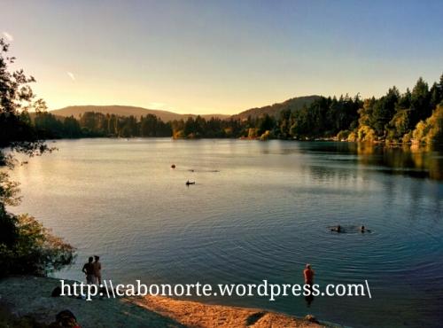 Lago no B&B de Victoria