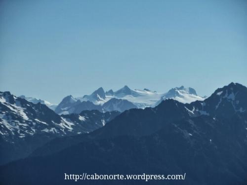Glaciares no Parque Nacional