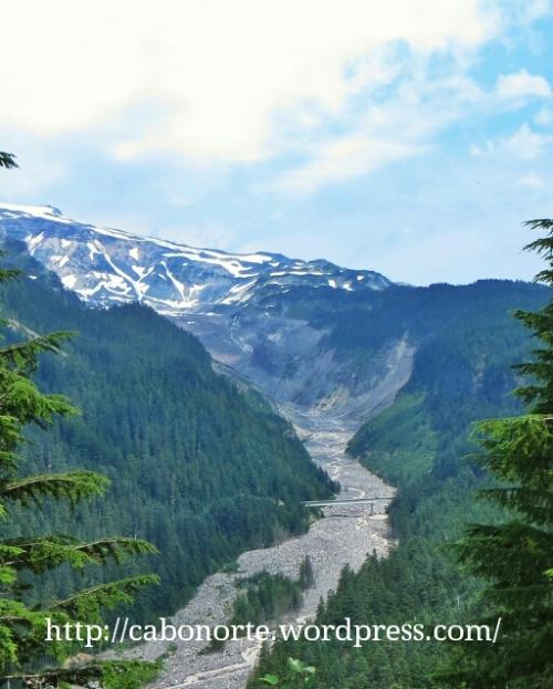 Chegando ao Monte Rainier
