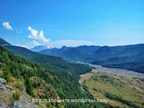 Val de North Fork Toutle River