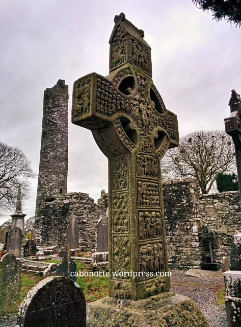 Cruz celta en Monasterboice