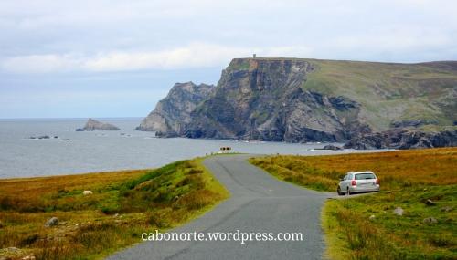 Co meu coche en Irlanda