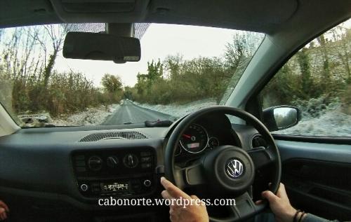 Conducindo pola esquerda