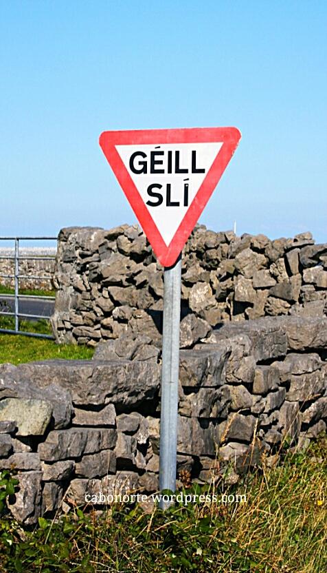 Sinal en gaélico