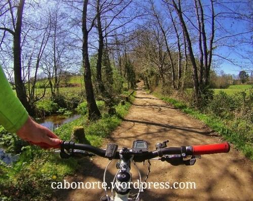 En bici polo Camiño