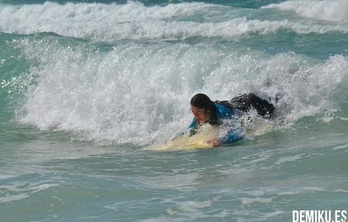 Empezando a coger la ola